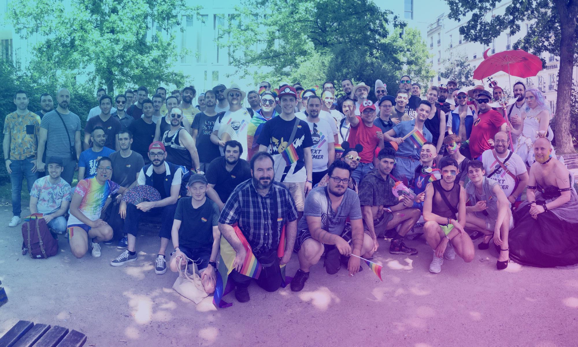 IRL Next Gaymer – Marche des Fiertés de Paris
